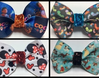Coco Magical Hats Minnie Ears Disney Dogs Magic Band Bows Party Gift Bow
