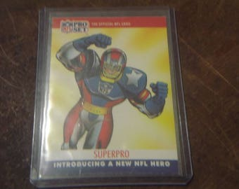 1990 Pro Set  SUPERPRO - Football Card - Special Collectable