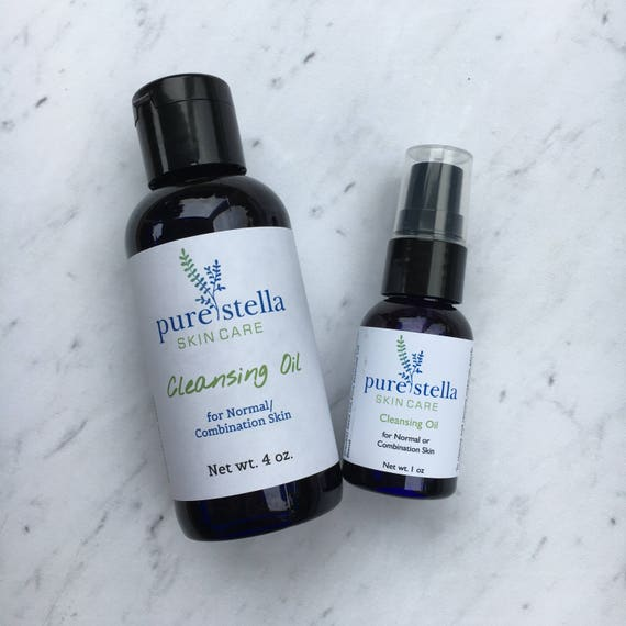 Facial Cleansing Oil for Normal or Combination Skin