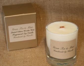 Limited Edition Soy Candle with Wooden Wick