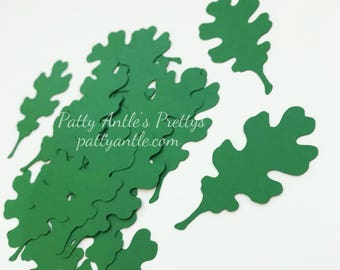 Oak Leaf Die Cuts, Oak Leaf Confetti, Oak Leaves Die Cuts, Oak Leaves Confetti