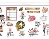Autumn Comfort Design Sheet
