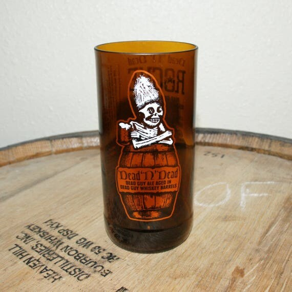 UPcycled Pint Glass - Rogue Ales - Dead 'N' Dead