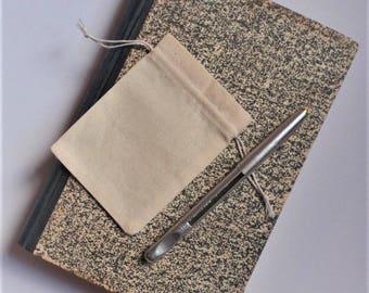 "Drawstring Muslin Bags * Party Favor *  10 Natural Cotton Pouch * 4"" x 5.5"" (10cm x 14cm)"