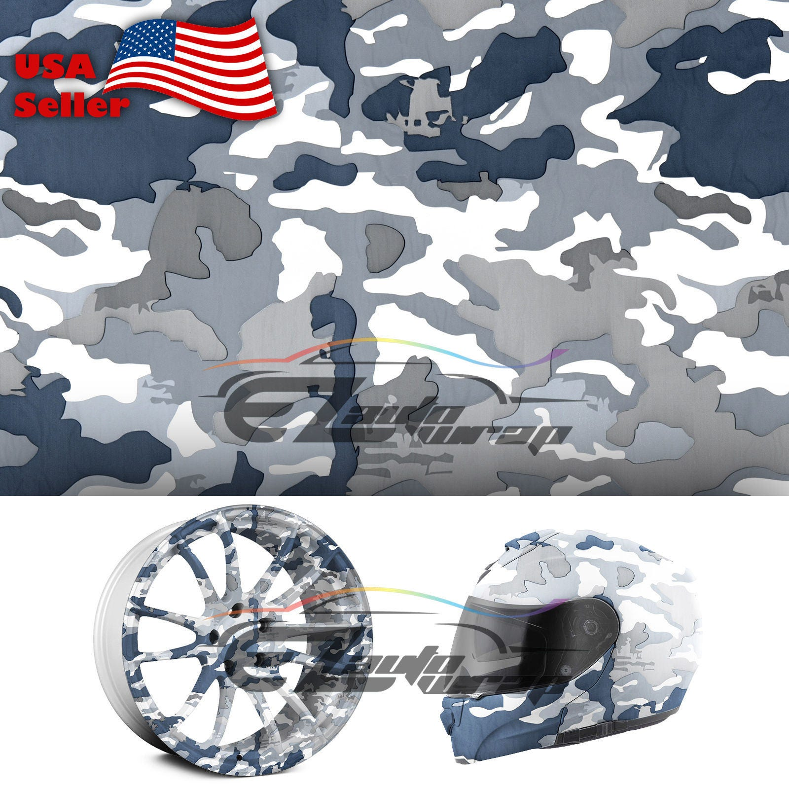 19 x38 hydrographic film hydro dipping water transfer snow camo camouflage 8 from. Black Bedroom Furniture Sets. Home Design Ideas