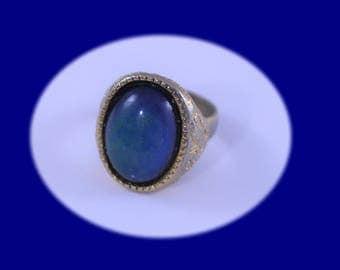 Vintage Gold Mood Ring Gold Ring Vintage Ring Vintage Jewelry
