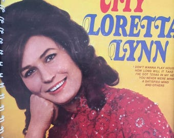 for the Loretta Lynn - Fist City 1968 (Country Queen / Coal Miners Daughter) vinyl /  Album Cover Notebook