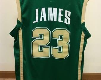 Lebron James High School Jersey (Large)