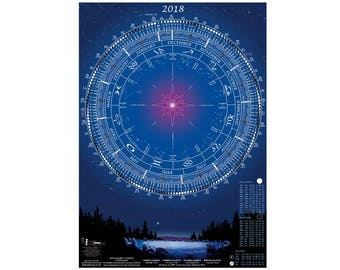red moon phase calendar 2018 - photo #39