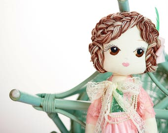 Coco: Handmade Cloth Doll by Manolitas