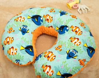 Disney Finding Dory baby, Boppy cover, Baby Shower Gift, slipcover for Boppy Pillow Cover, Nursing Pillow Cover, Dory Baby Nursery