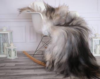 Icelandic Sheepskin | Real Sheepskin Rug | I Gray Sheepskin Rug | Fur Rug | Christmas Decorations #novisl7
