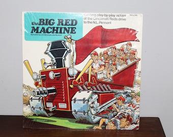 1970 The Big Red Machine 33 1/3 Rpm Record Album