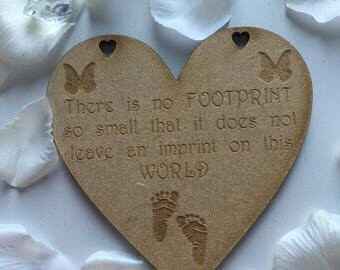 There is no FOOTPRINT heart