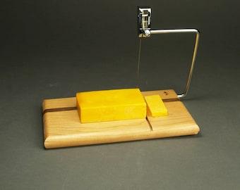 Baun Galleries Cherry Cheese Slicer & Serving Board