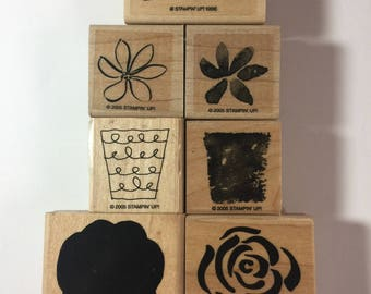 Stampin Up Assorted Flowers