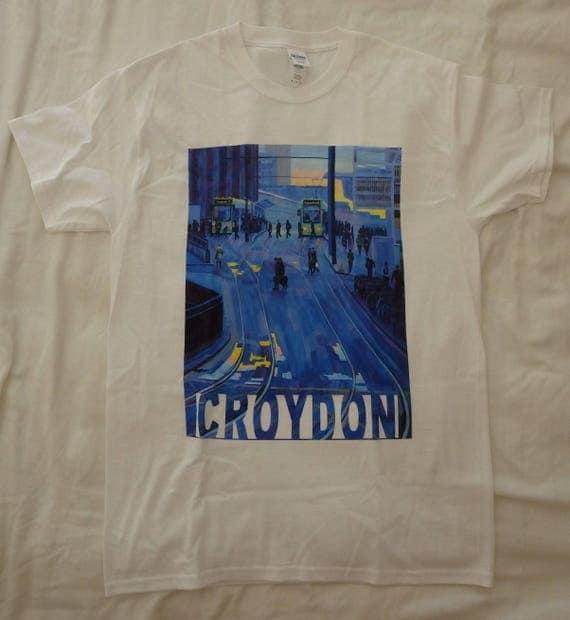Croydon Trams Printed Tshirt