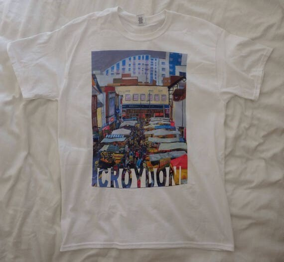 Croydon Surrey Street Market Printed Tshirt