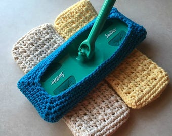 Crochet Swiffer Covers Reusable Swiffer Pads Set of 3 Made to Order