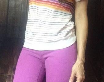 Bright Vintage Babydoll Shirt