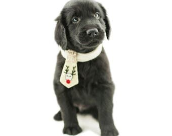 Christmas Dog Tie - Christmas Dog Outfit - Christmas Present for Dog - Dog Xmas Gift - Dog Necktie - Holiday Outfit for Dogs