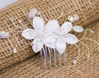 Hair comb wedding or ceremony / Wedding haircomb / Swarovski pearls
