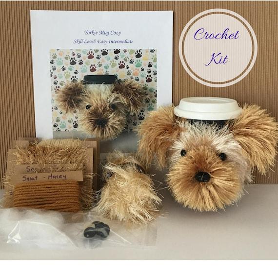 Amigurumi Beginner Kit : Amigurumi Kit - Crochet Pattern Dog - Crochet Starter Kit ...
