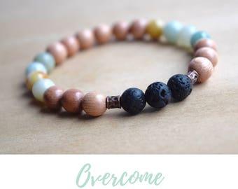 Balance Bracelet / coworker gift, best godmother gifts, bff gifts for women, gifts for meditators, treat yo self gift, amazonite bracelet