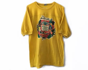 70s Vintage Budweiser Medium Sleeve Jersey T Shirt