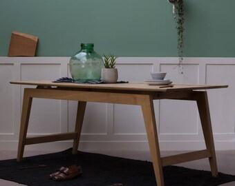 Signature Oak Desk, Table [Bespoke sizes!] writing computer minimal office