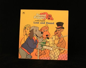 "Vintage Pound Puppies ""Lost and Found"" Children's Soft Cover Storybook 1987!"