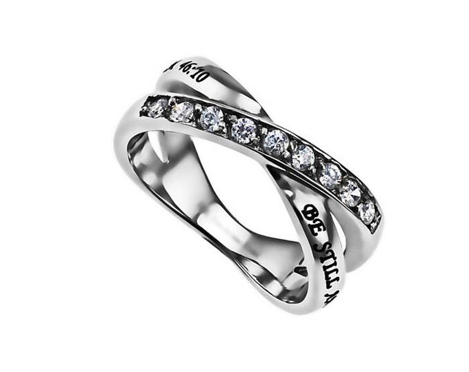 """Radiance Ring """"Be Still"""""""