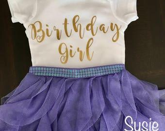 Baby's first birthday onesie birthday girl 1st birthday