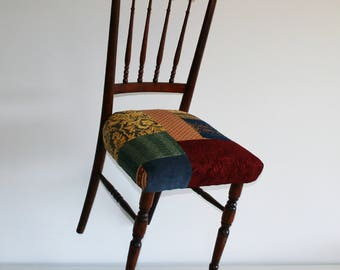 Vintage chair patchwork