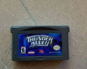 Thunder Alley Gameboy Advance Original GBA