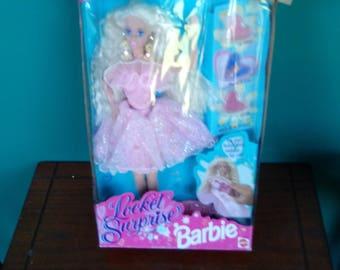 Mattel Vintage Locket Surprise Barbie Doll