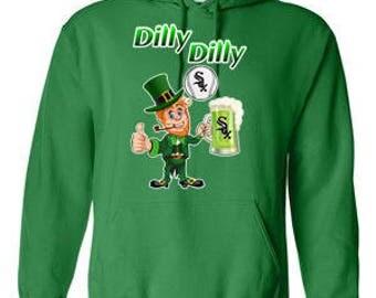 Chicago White Sox Hoodie, White Sox Sweatshirt, Sox Irish Shirt, Dilly Dilly Sox