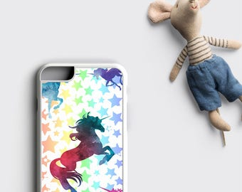 Cute Unicorn iPhone 6S Case, iPhone 6 Case Unicorn - Unicorn iPhone X Case, Unicorn iPhone 7 Plus Case, Unicorn iPhone 8, Gift for Her