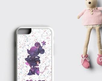 Disney iPhone 7 Case Minnie Mouse iPhone 7 PLUS Case - Personalized iPhone 6 Plus Case, Minnie Mouse Phone Case, Samsung Galaxy S7 Edge Case