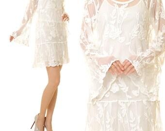 Tunic Wedding Dress