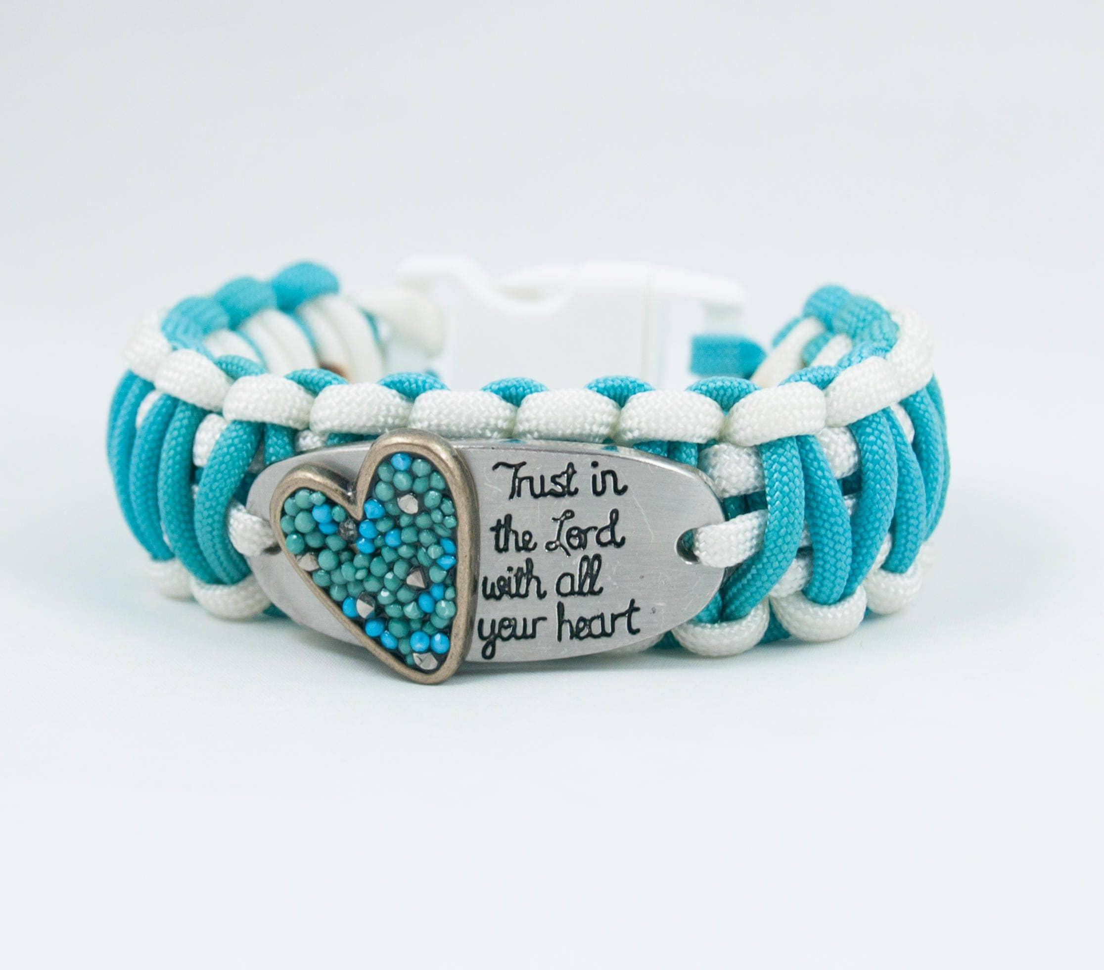 the church heart fullxfull turquoise bracelet trust lord god religious inspirational quote quotes faith p gifts il in paracord