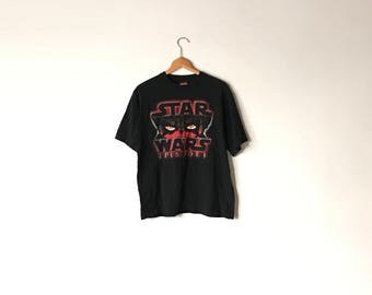 STAR WARS SHIRT // 90s // Medium // Sith T-Shirt // Sith // Sith Shirt / Star Wars Shirt // 90s Star Wars // Star Wars Shirt // Star Wars