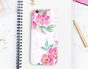 Pink iPhone case, iPhone X case, Peonies phone case, iPhone 8 plus case, Pink Phone Case, Galaxy S7, Galaxy s8 case, phone case iPhone 6,