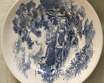 Wedgwood Countryside Blue Dinner Plate