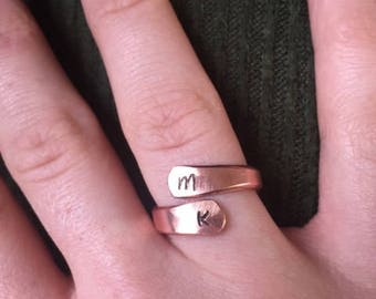 Custom Copper Ring