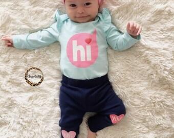 Love Me In Pink headwrap, pink headwrap, fabric head wrap, baby headwrap, toddler headwrap, newborn headwrap, baby headband, pink headband