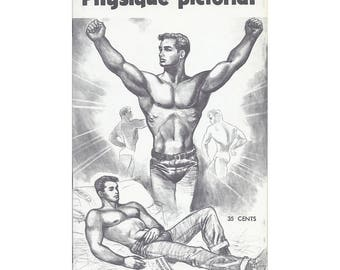 Vol.10 No.2 - Uncirculated Vintage Issue Of Physique Pictorial - Victory Issue - Featuring Artists Etienne, Fred Spamell And Art-Bob