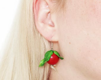 Luna Lovegood Radish Earrings