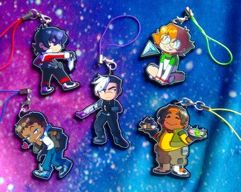 "Voltron Paladin 2"" Charms"