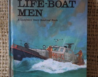The Lifeboat Men. A Vintage Ladybird book. Series 606B.
